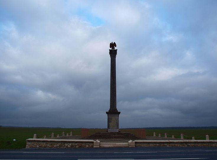 Bataille de Montmirail — Vue de la colonne