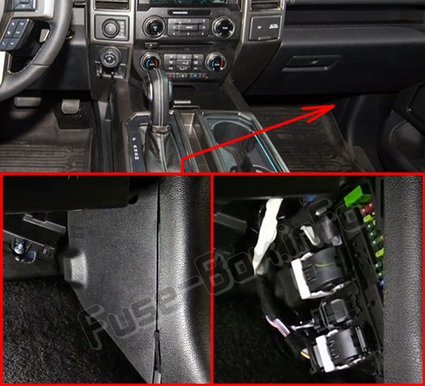 ford f-150 (2015-2019..) < fuse box location | ford f150, fuse box, fuses  pinterest