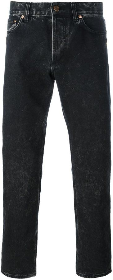 Givenchy washed finish jeans