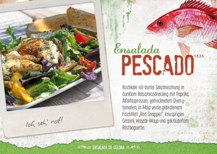 Unsere Sommersalate - Cafe & Bar Celona