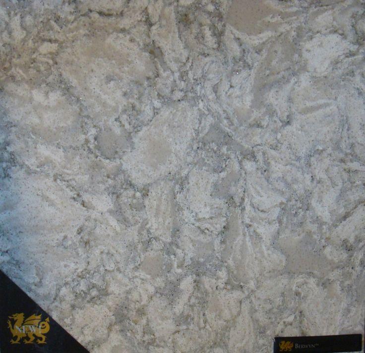 "Cambria, Quartz ""Berwyn"" Waterstone Collection"