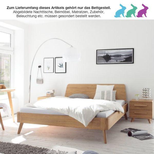 Hasena Oak-bianco Modul 18 Masito Edda Bett | Living Domani