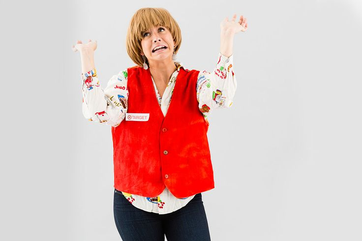 LOLing over this Target Lady Halloween costume.
