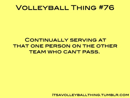 Volleyball Thing #76