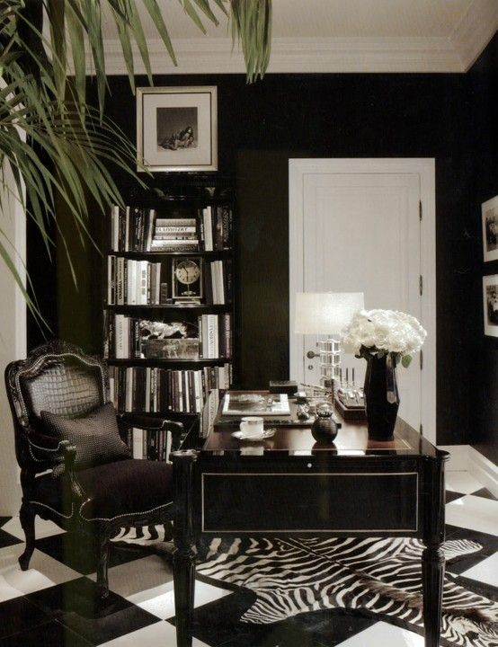 black walls and more