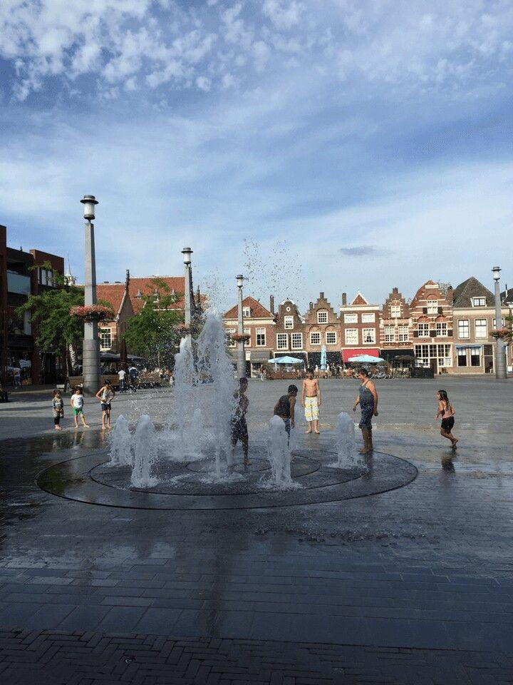De binnenstad van Dordrecht