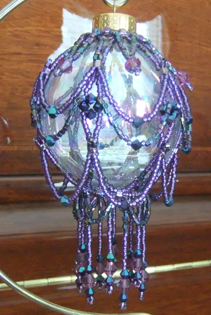 37 best images about ornament covers 5 on pinterest for Crystal baubles christmas