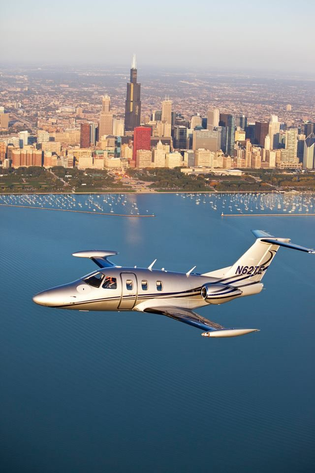 A springtime flight around Chicago in the Total Eclipse. Where will your Eclipse Jet take you? #microjet