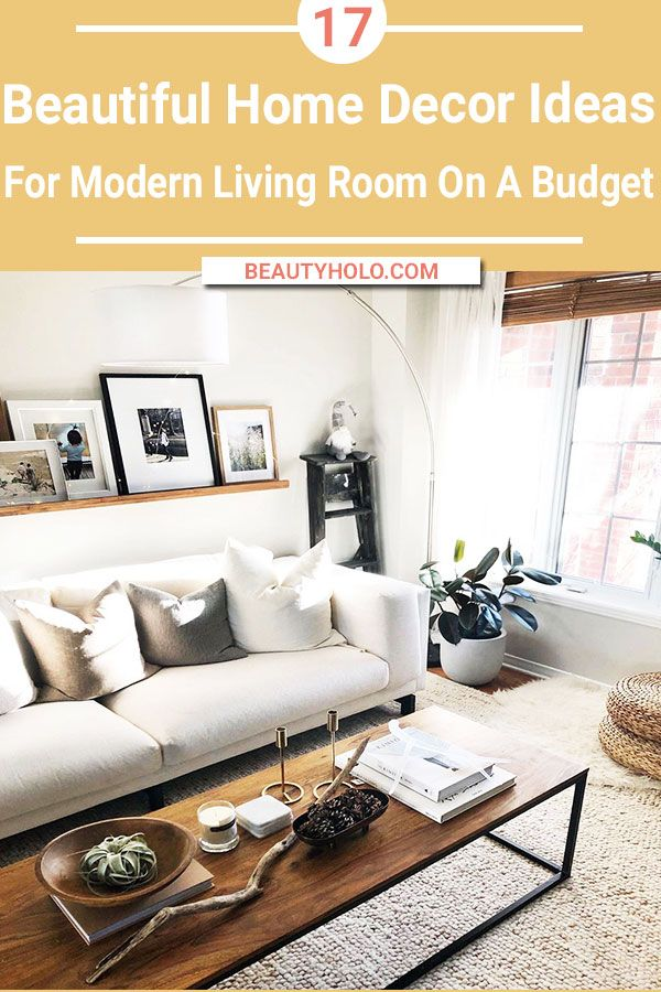 17 Best Home Decor Ideas For Living Room On A Budget Living Room On A Budget Modern Living Room Interior Home Decor