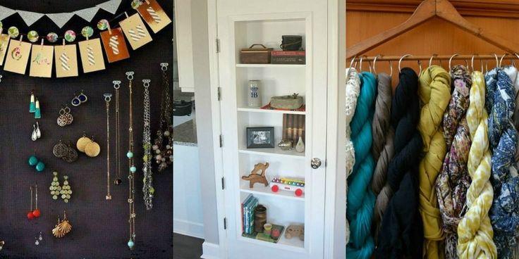 organization closet diy organizing and operation hacks ideas