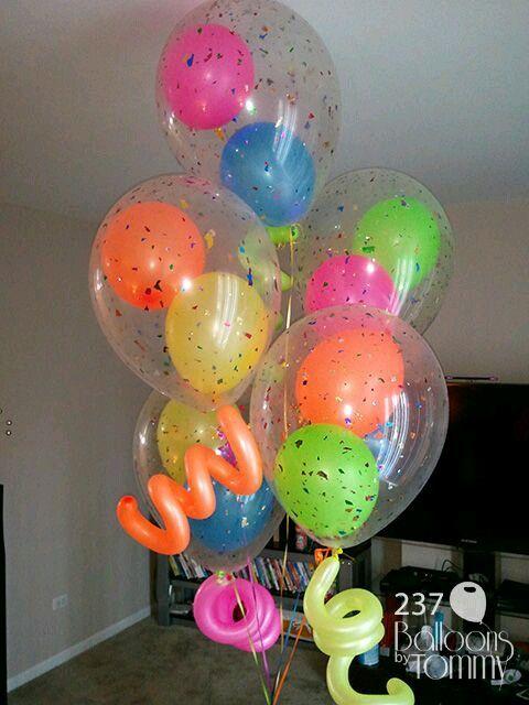 aprende como meter globos dentro de otro globo