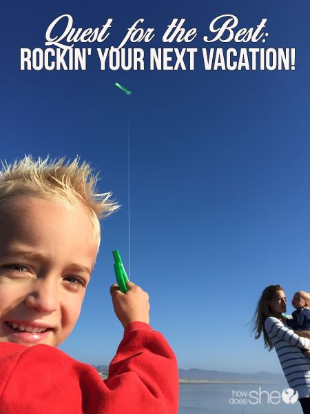 Quest for the Best: Awesome Vacation Game!   How Does She