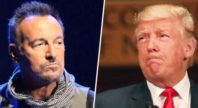 "Bruce Springsteen Just Slammed ""Un-American"" Trump For Unleashing Hate On America"
