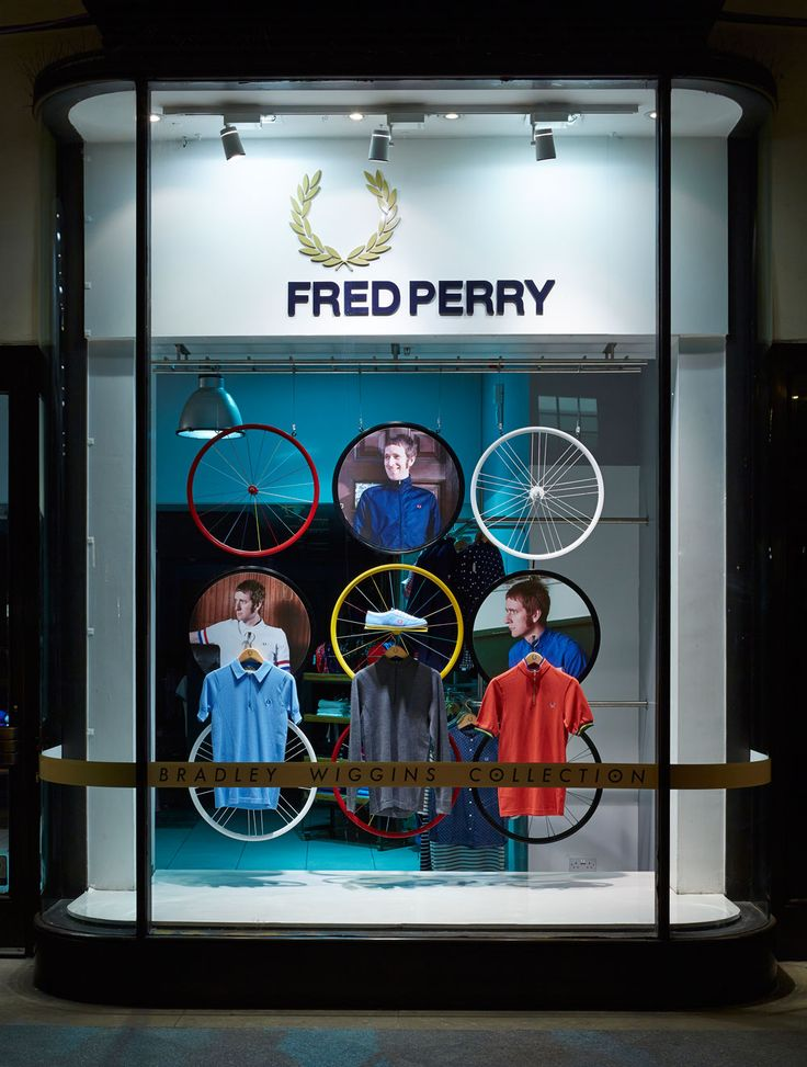Fred Perry window display
