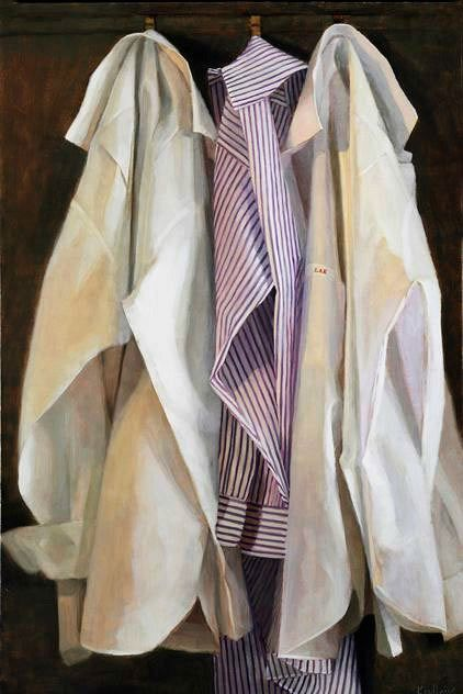 Judith Pond Kudlow, Three Shirts. 2013