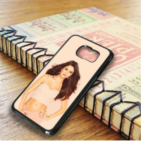 Gorgeous Hot Selena Gomez Samsung Galaxy S6 Edge Case