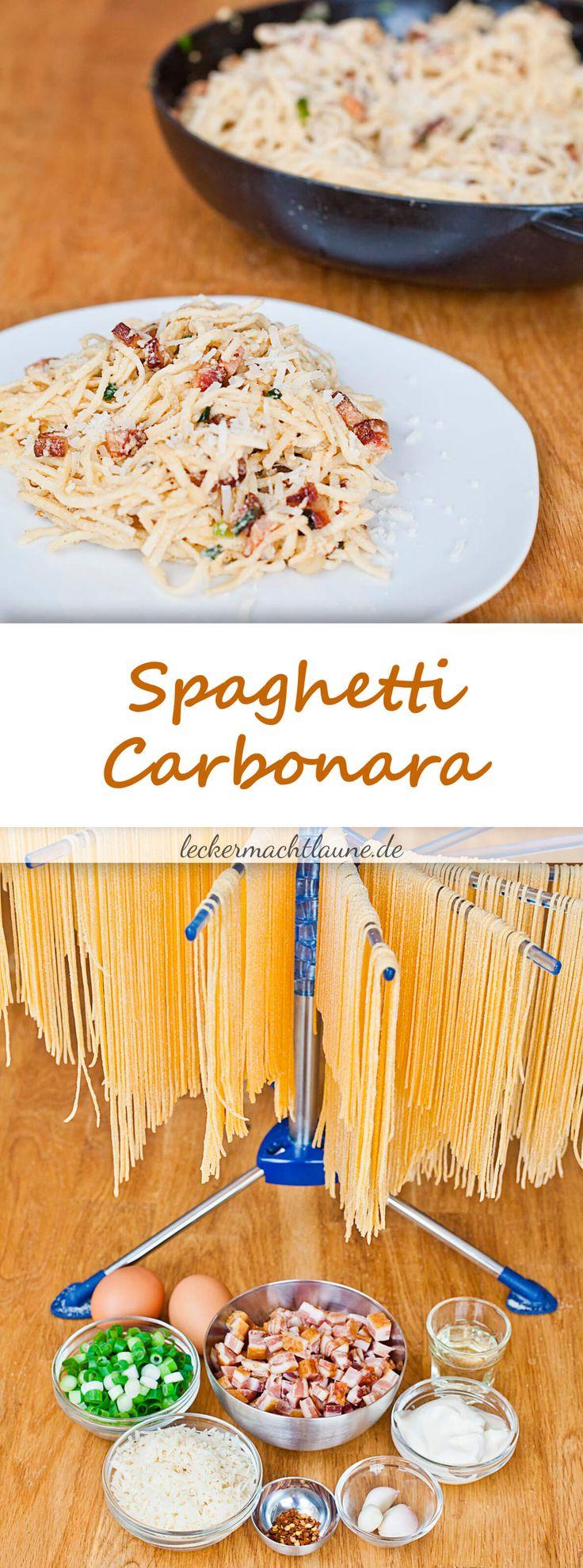 Spaghetti Carbonara {à la bill granger}