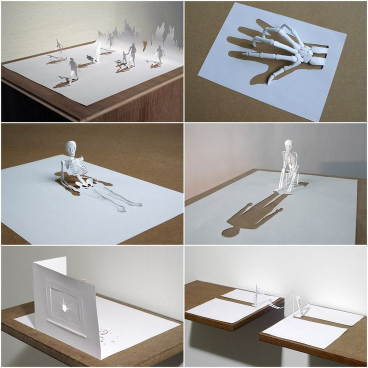 A4 Papercuts by Peter Callesen