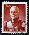 Óscar Carmona –selo de 1 escudo 1945