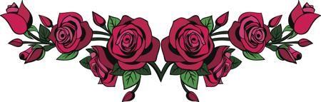 Floral Tramp Stamp Tattoos