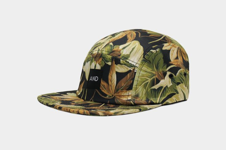 Leaf AND 5 Panel Cap | ANDCLOTHING
