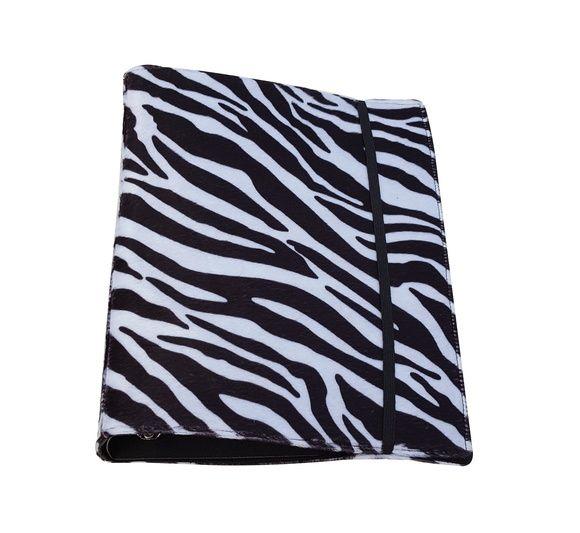 Mini Fichário Zebra