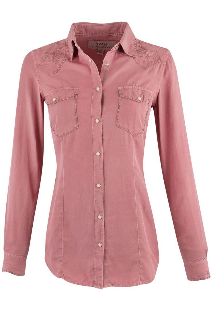 Shop Ryan Michael Silk Whipstitch Western Shirt at pintoranch.com. Enjoy FREE Shipping over $100.