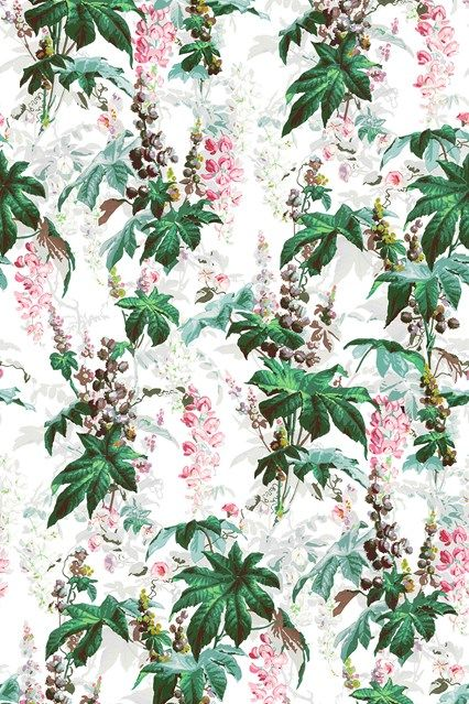 Discover hundreds of wallpaper ideas on HOUSE - design, food and travel by House & Garden including Castanea by House of Hackney
