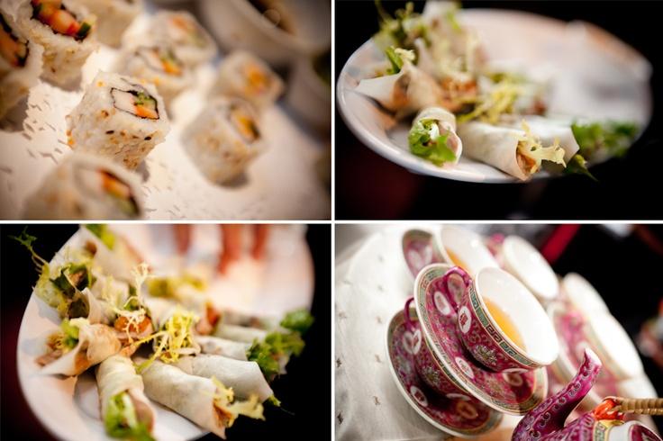 Atlantis Pavilions wedding appetizers