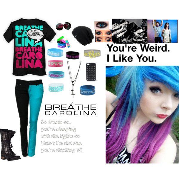 Breathe Carolina outfit