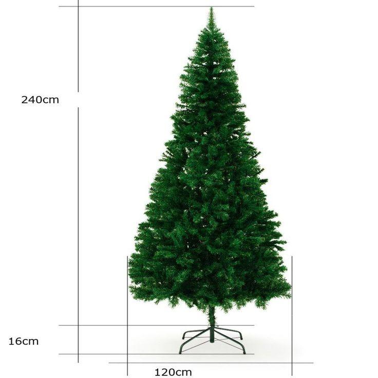 Weihnachtsbaum Tannenbaum 240cm Künstlicher Christbaum Weinachten Kunstbaum Deko
