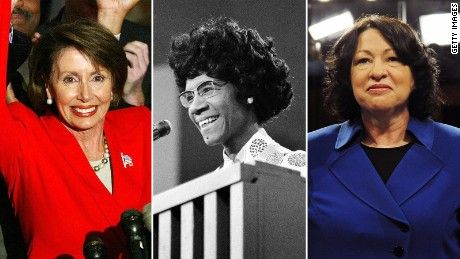 On International Women's Day, CNN Politics takes a look back at the first women to ever hold prominent positions in the world of politics.
