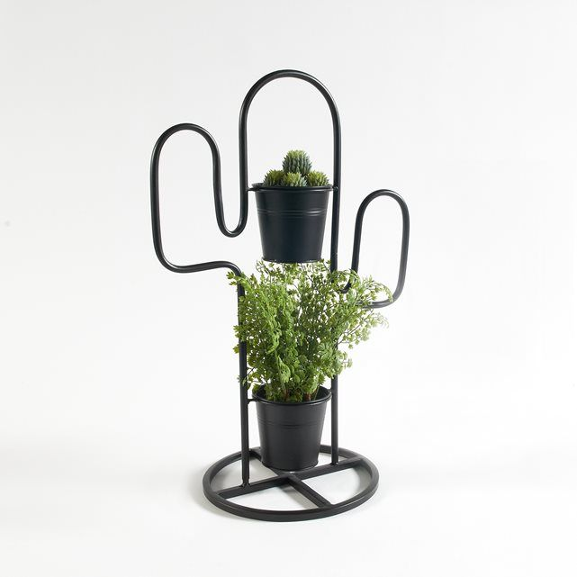 """Blumenständer """"Tuscaliro"""" in Kaktusform, Metall"""