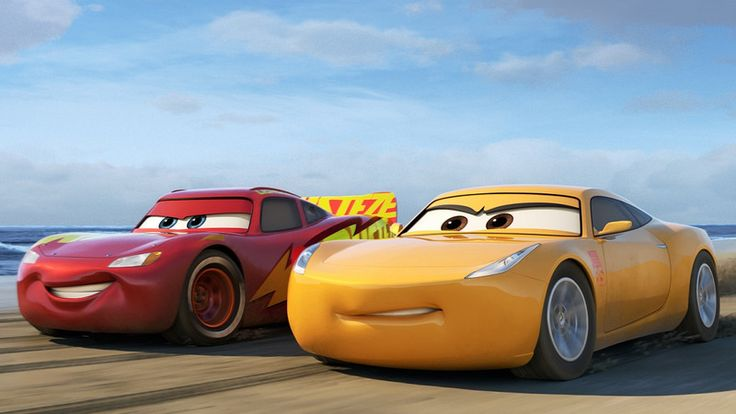 Auta 3 (2017) Samochód wyścigowy Zygzak McQueen z pomocą młodej trenerki staje do rywalizacji w kolejnym wyścigu.