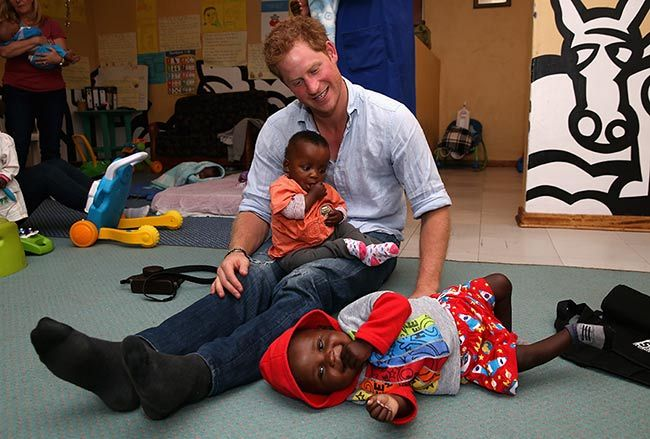Prince Harry names Lesotho charity centre after Princess Diana and his nanny
