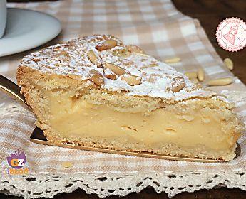 TORTA DELLA NONNA ricetta facile con crema infallibile