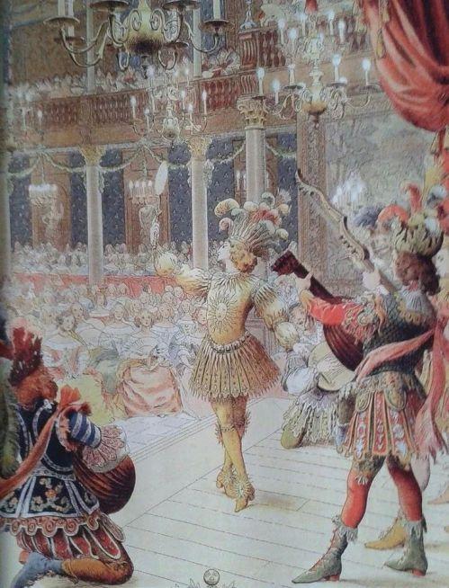 louis xiv quand il incarne le soleil levant dans le ballet de la nuit le 23 f vrier 1653 au. Black Bedroom Furniture Sets. Home Design Ideas