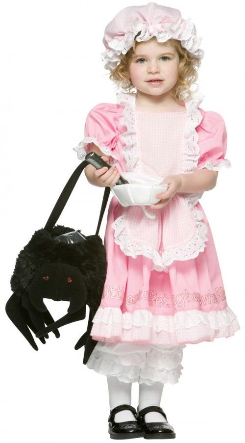 toddler little miss muffet costume halloween