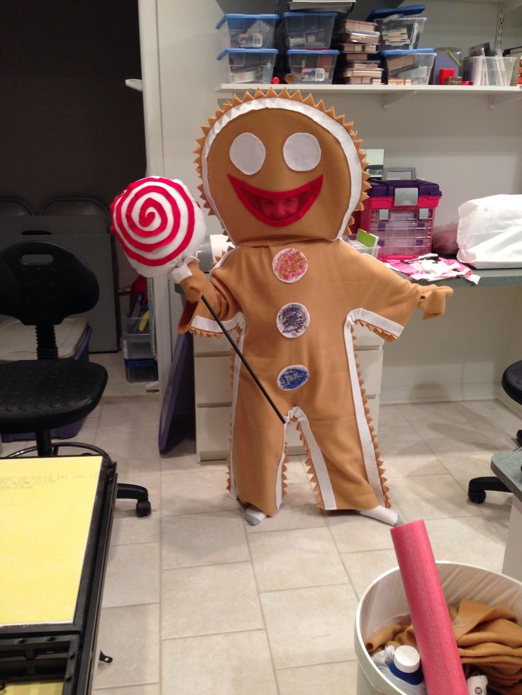 gingerbread man costume craft ideas pinterest