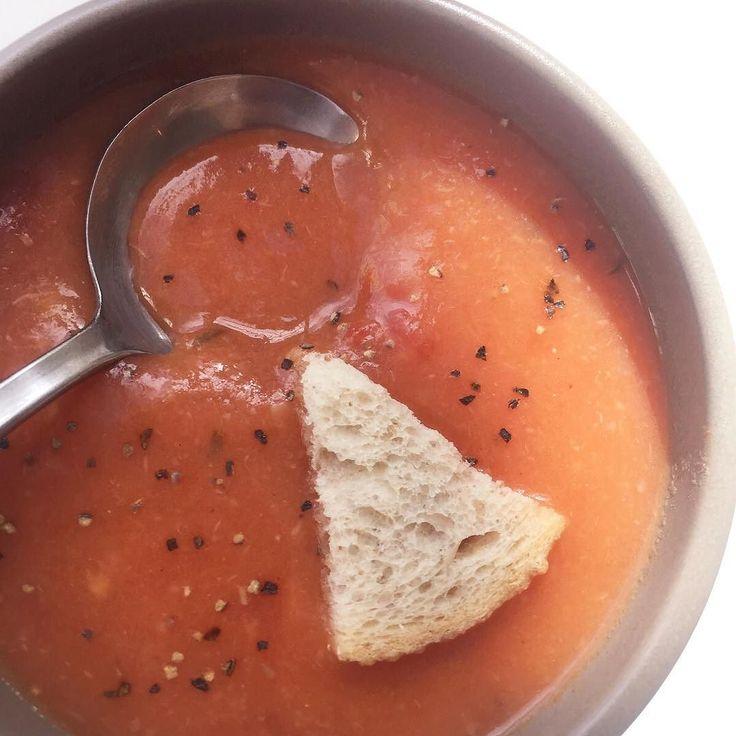 #オーバッシュのスープ#ポタージュ#トマト#里芋#親芋#玉ねぎ#スープ#赤のポタージュ#ていねい仕込み#ことこと#手仕事#1から手作り #徳島#県産素材#体にやさしい#potage#soup#sueki#オーバッシュカフェ#徳島のカフェ by obashcrust
