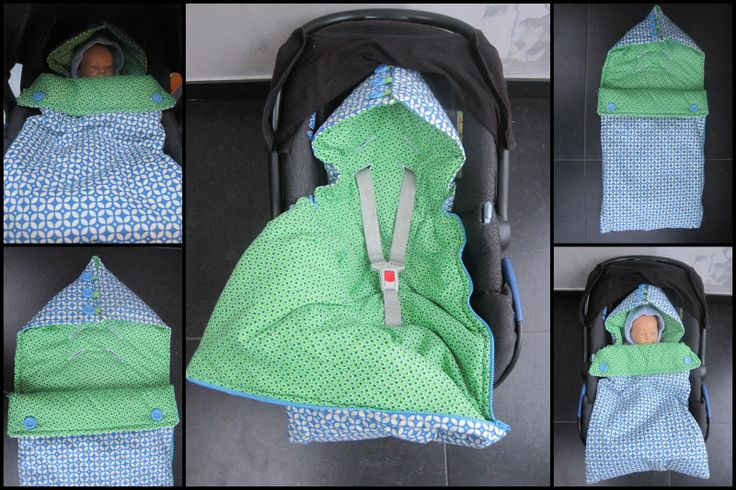 Car seat snuggle - make it larger and longer for the buggy??