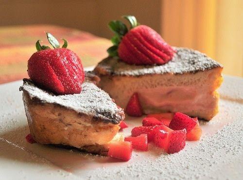 Strawberry cake #dessert