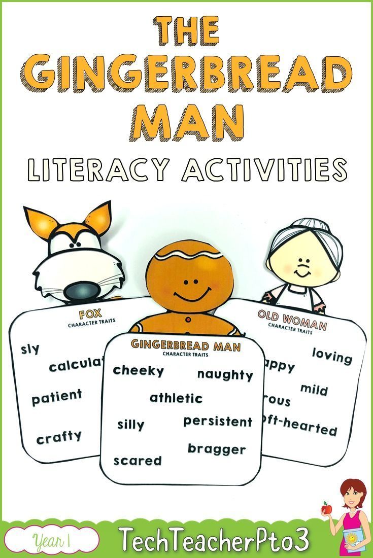 The Gingerbread Man Literacy Activities Literacy Activities Literacy Literacy Lessons