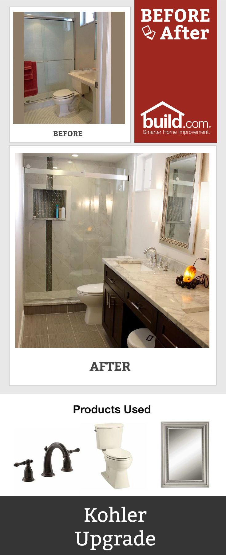 Best Before And After Bathroom Images On Pinterest Bathrooms - Bathroom remodel hendersonville nc