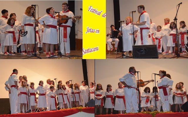Santacara: Festival Jotas Fin de Curso Escuela de Jotas de Sa...