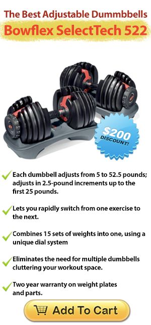 3 Reasons Why You Should Use Adjustable Weight Dumbbells