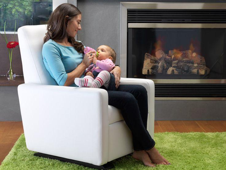 Monte Design Modern Nursery Furniture - Grano Glider Recliner