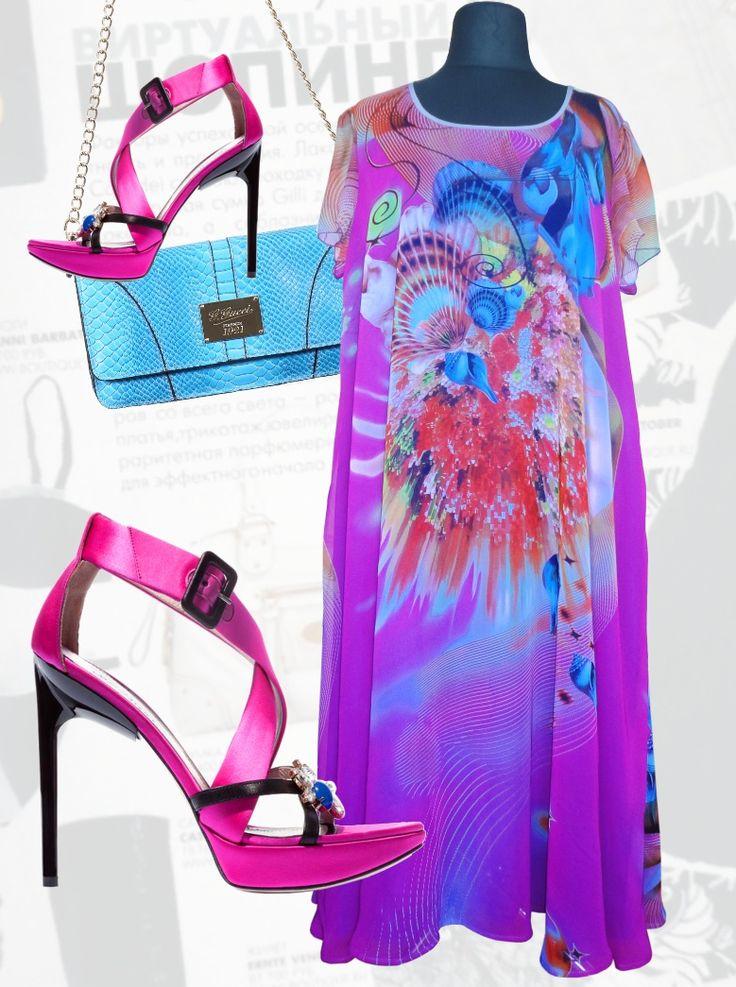 54$ Воздушное шифоновое летнее платье свободного покроя для полных женщин «Ракушка» Артикул 737, р50-64 Платья больших размеров  Платья свободного кроя больших размеров Шифоновые платья больших размеров  Летние платья больших размеров Платья макси больших размеров  Длинные платья больших размеров  Платья свободные больших размеров  Дизайнерские платья больших размеров Красивые платья больших размеров  Модные платья больших размеров  Стильные платья больших размеров