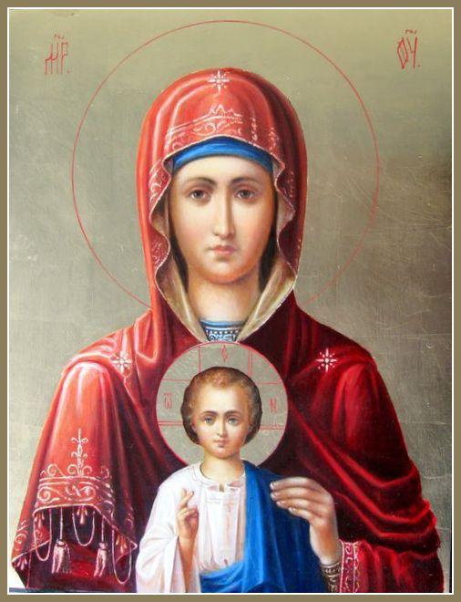 Икона Божией Матери «Услышательница» (Зографская)