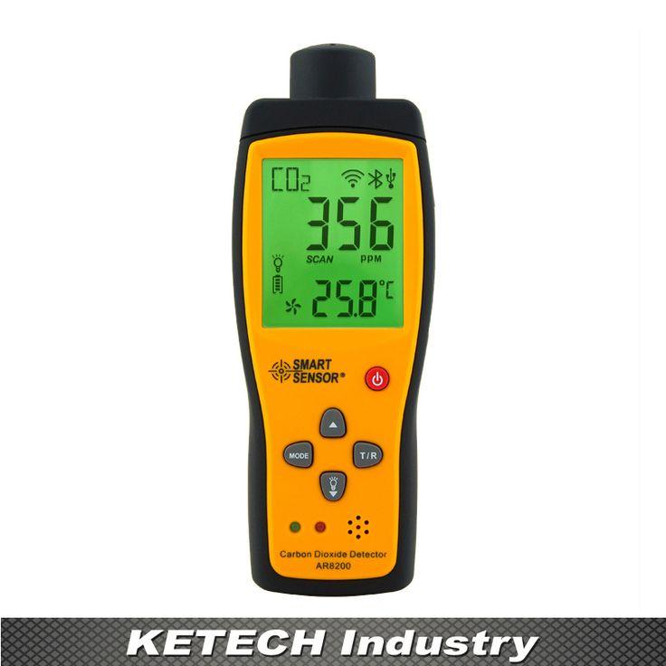 AR8200 Portable Carbon Dioxide Gas Detector CO2 Gas Detector